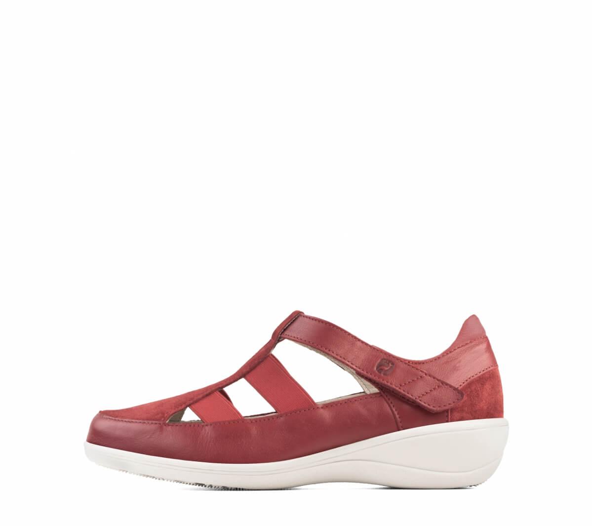 sandaler med täckt tå